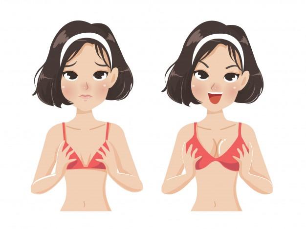 Augmentation mammaire Tunisie avant après